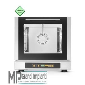 Forno elettrico digitale a convezione con vapore 4 teglie 429x345 mm