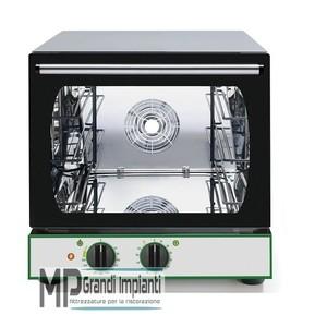Forno a convezione elettrico 3 teglie 35x26 meccanico-CMP332M