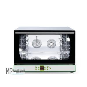 Forno a convezione elettrico con umidificatore 4 teglie digitale