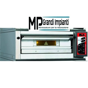 Forno pizza a gas ZANOLLI 1 Camera cm 105x105x16h 9 pizze