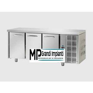 Tavolo refrigerato 3 porte  - temperatura 0°+8° - profondità cm 70