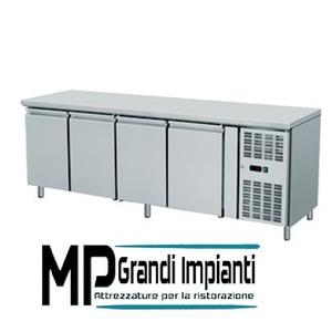 Tavolo refrigerato 4 porte  - temperatura 0°+8°C