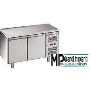 Tavolo refrigerato e porte ventilato temperatura -18°-22°C - GN2100BT-FC