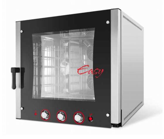 Forno convezione vapore elettrico 6 teglie GN1/1-EASY 6 E