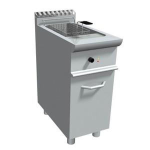 Friggitrice elettrica 1 vasca 17 l. con mobile-E7/FRE1V17