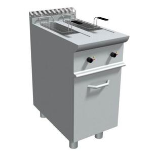 Friggitrice elettrica 2 vasche 8+8 litri con mobile-E7/FRE2V8