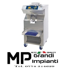 Mantecatore elettromeccanico con estrazione automatica produzione 100 litri/ora