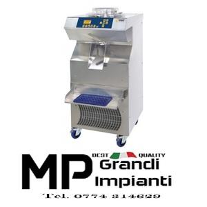 Mantecatore elettromeccanico con estrazione automatica produzione 100 litri/ora -Raffreddamento misto Aria/Acqua