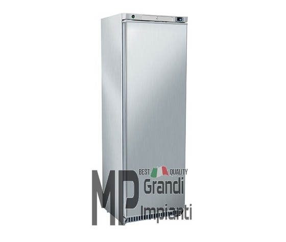 Armadio frigorifero inox 400 l. interno in ABS temp 0°+8°C-RCX400