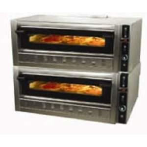 Forno pizza a gas 2 camere 6+6 pizze diam. cm 30