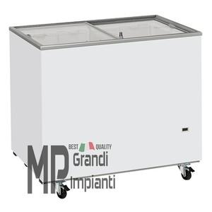 Congelatore a pozzetto vetri scorrevoli 300 l.-CFG308