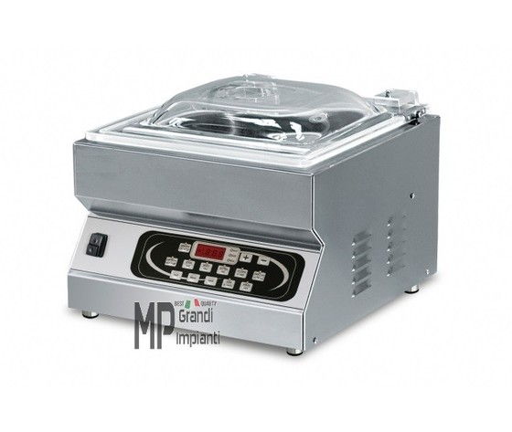 Confezionatrice a campana da banco con LCD barra saldante 35 cm-SPEEDY LCD