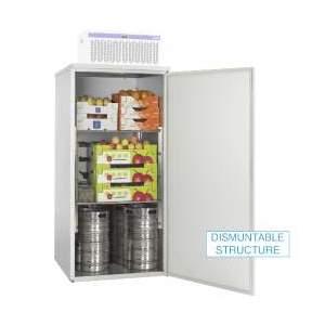 Cella frigorifera cm 100x100x200h con gruppo refrigerante temp 0°+8°C-ASM200-TN