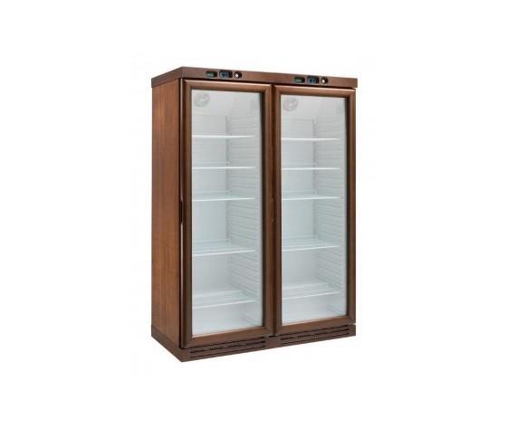 Cantinetta per vini refrigerata statica due porte Temp. +2°+8°C-KL2792