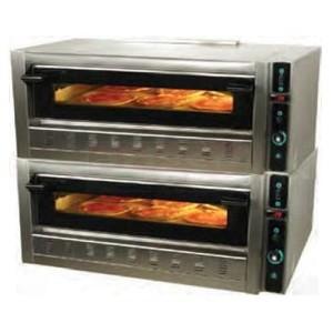Forno pizza a gas 2 camere 9+9 pizze da 35 cm