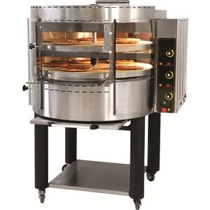 Forno Pizza gas rotante 14 pizze 2 Piani di cottura diametro cm 98-RP2