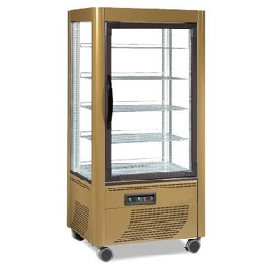 Vetrina Espositore refrigerato panoramico Temp. +2°+10°C