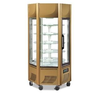 Vetrina Espositore refrigerato Pasticceria 600 l. Temp. +2°+10° C