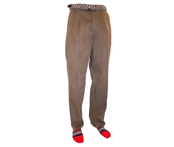 Pantaloni fustagno con pences