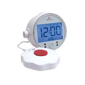 BE1370 - Sveglia digitale completa di dispositivo esterno a vibrazione/sonoro