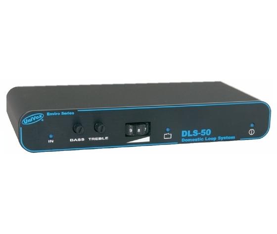 DLS 50 - Amplificatore a induzione magnetica per 50 m² completo di kit cavi