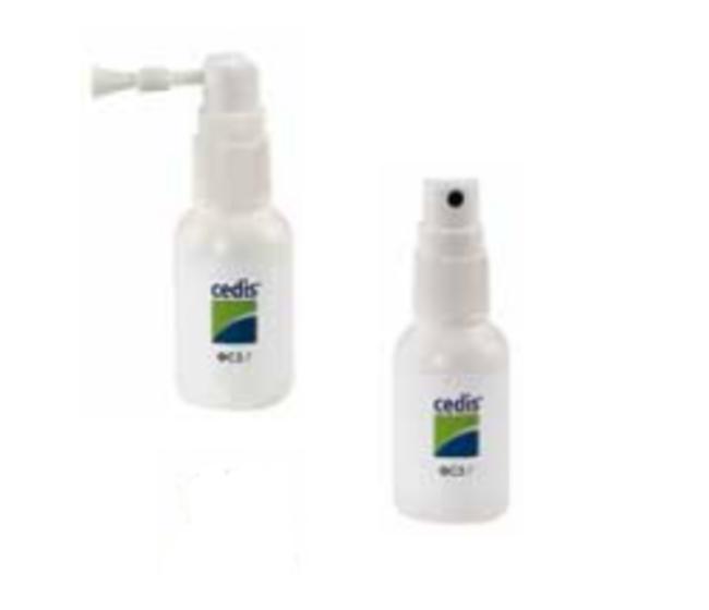 Spray disinfettante con spazzolino
