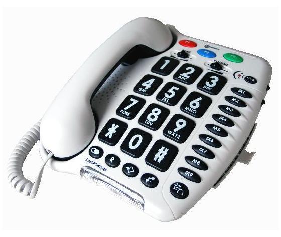 AmpliPOWER-40 - Telefono amplificato +50dB