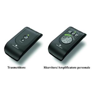 BE8005 - Sistema di ascolto senza fili RF completo di auricolari - Domino Pro