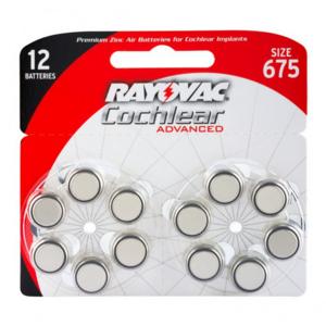 Pile per apparecchi acustici Rayovac Cochlear Advanced