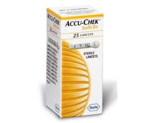 Accu-Chek Softclix Lancette sterili pungidito per diabetici