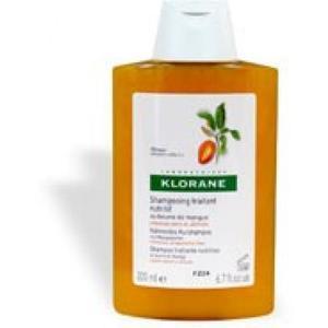 klorane Shampoo nutritivo e riparatore al burro di mango 400ml