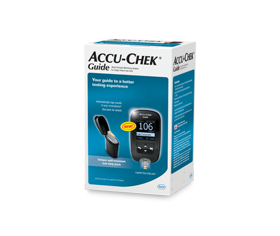 ACCU CHECK GUIDE KIT MG/DL