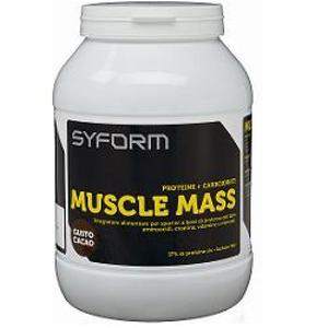 SYFORM MUSCLE MASS CACAO 1200G