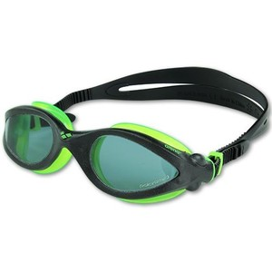 occhialini piscina arena modello i max pro polarized black/acid lime