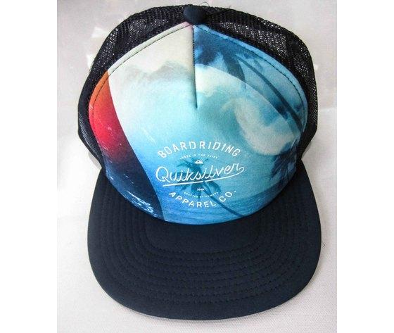 Cappellino Quiksilver Modello Visionary fantasia/blu