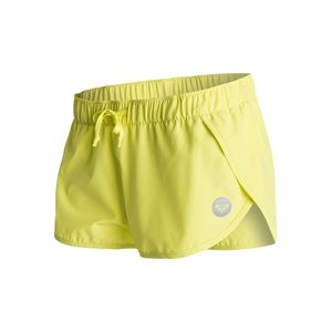 Boardshort donna Roxy modello Lo Down 2 limeade