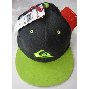 Cappellino Quiksilver Modello Stuckles grigio/lime
