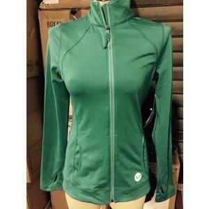 Giacca donna sport Roxy con zip Verde Acqua  Taglia M