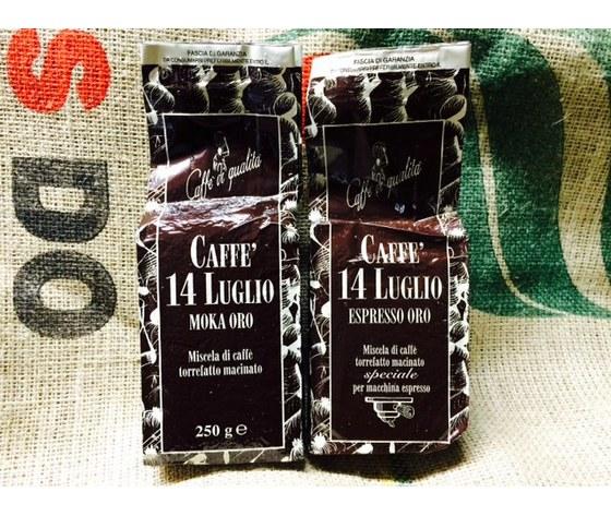 12 pezzi da 250g - 6 macinato Moka Oro 6 Espresso Oro