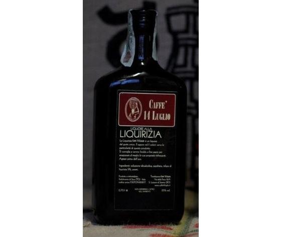 Tre Bottiglie di Liquore alla Liquirizia - 14 Luglio