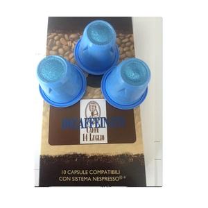 100 (Cento) Capsule Compatibili Nespresso - Decaffeinato - In confezioni da 10 cps.