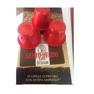 100 (Cento) Capsule Compatibili Nespresso - Deciso - In confezioni da 10 cps.