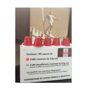 100 (Cento) Capsule Compatibili Nespresso - Deciso NUOVA CONFEZIONE