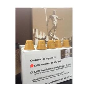 100 (Cento) Capsule Compatibili Nespresso - Morbido - NUOVA CONFEZIONE