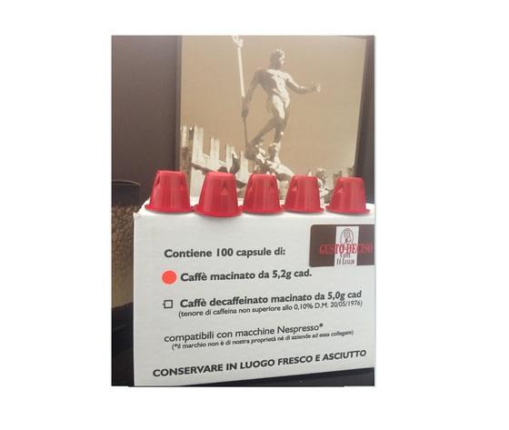 OFFERTA 200 (Duecento) Capsule Compatibili Nespresso - Deciso NUOVA CONFEZIONE