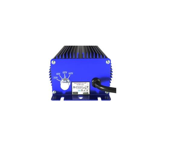 BALLAST LUMATEK QUADRIPOTENZA 250-400-600-660W 240V DIMMERABILE HPS-MH SUPER LUMEN