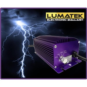 BALLAST ELETTRONICO LUMATEK 250W HPS-MH QUADRIPOTENZA SUPER LUMEN