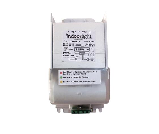 ALIMENTATORE ELETTROMAGNETICO INDOORLIGHT CMH/LEC 315W INTELLIDRIVE