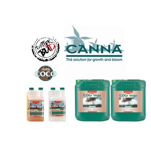 CANNA COGR VEGA A+B 2X 1L - 5L PER COCCO PRESSATO/COCCO