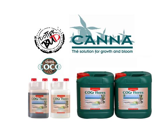 CANNA COGR FLORES A+B 2X 1L - 5L
